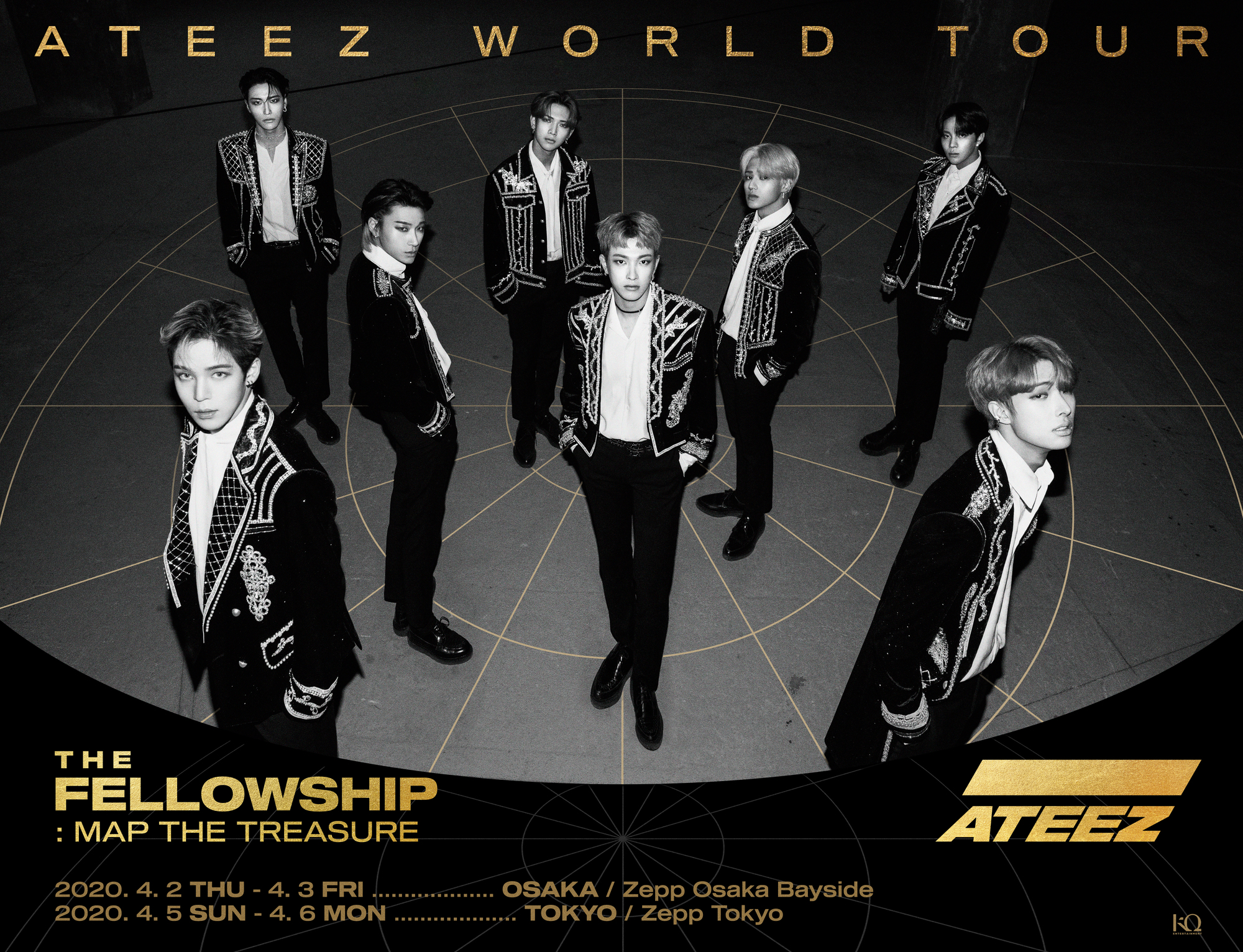 ATEEZ World Tour The Fellowship: Map The Treasure